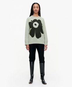Marimekko Lohdukas Unikko Knit Green