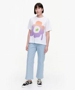 Marimekko Kapina Unikko T-shirt White