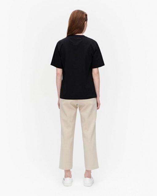 Marimekko Hohka Solid T-shirt Black