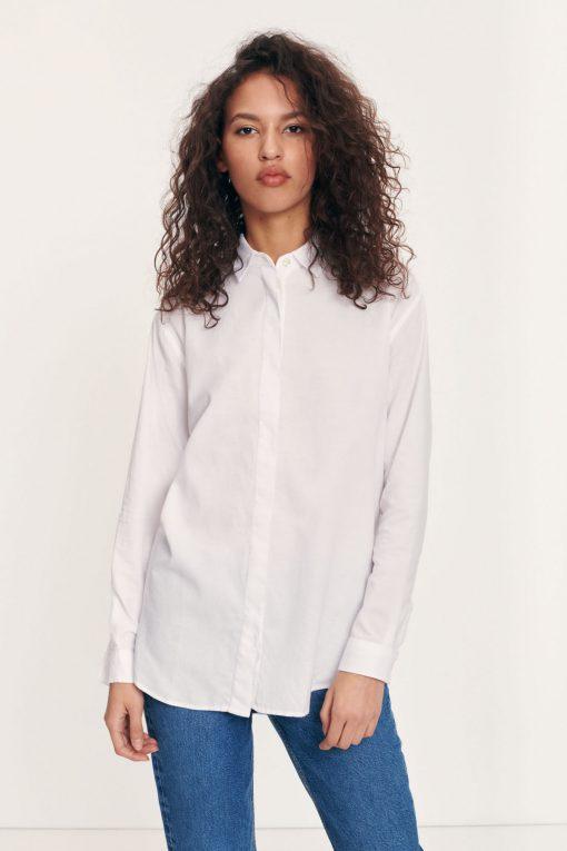 Samsoe & Samsoe Caico Shirt White