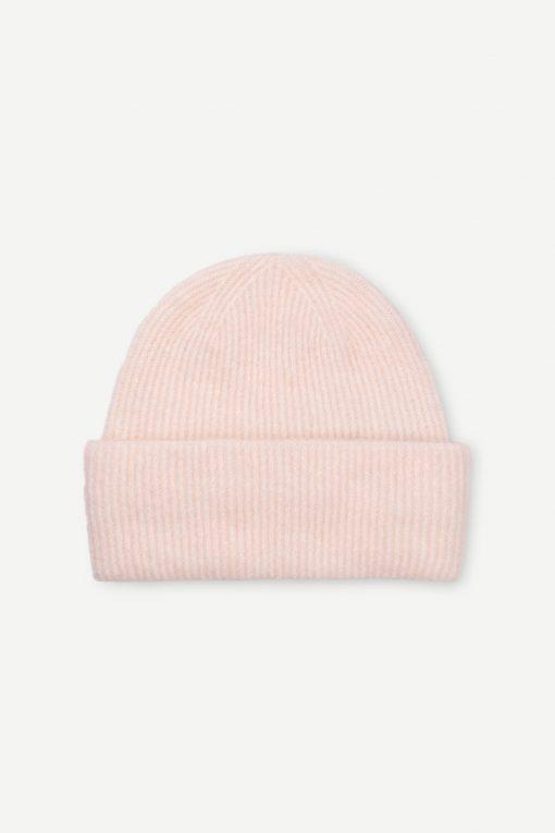 Samsoe & Samsoe Nor Hat Crystal Pink Melange