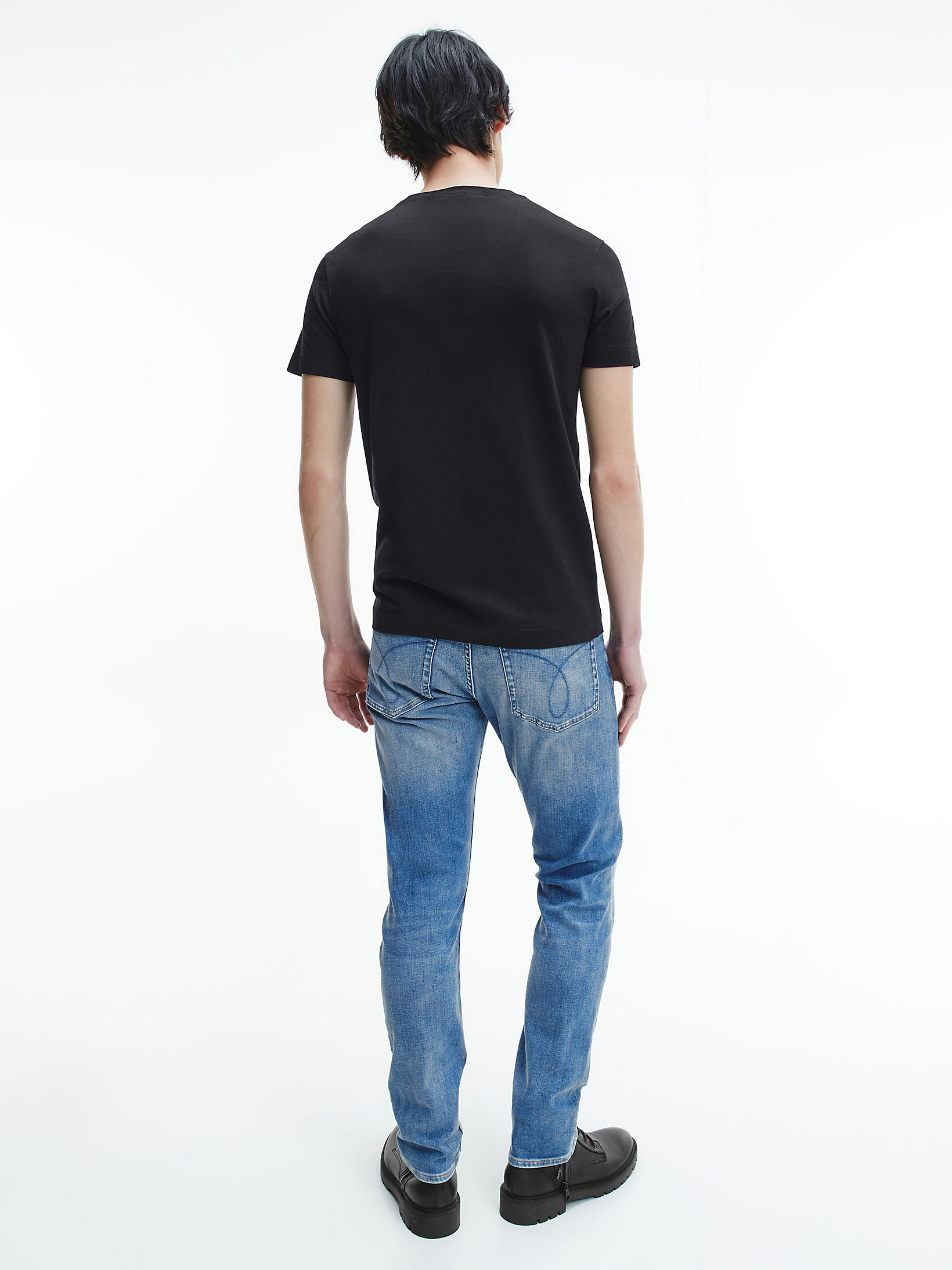 Calvin Klein Micro Branding T-shirt Black