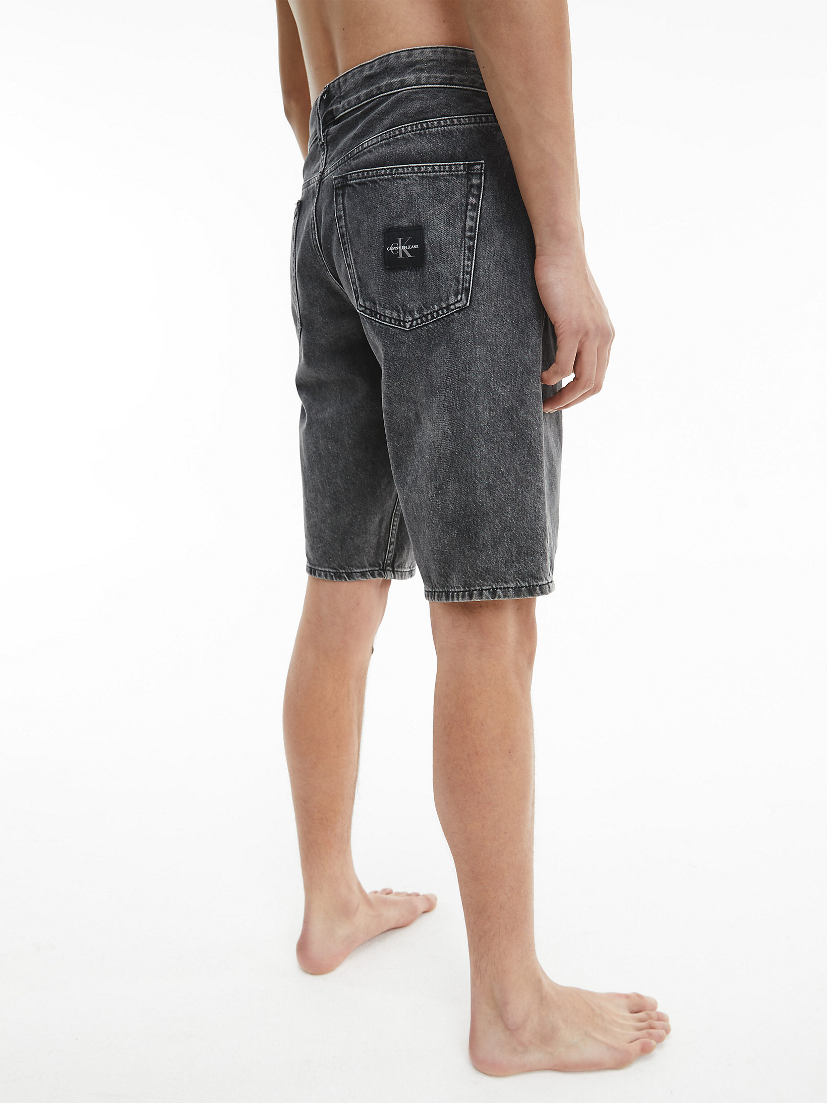 Calvin Klein Denim Shorts Denim Black