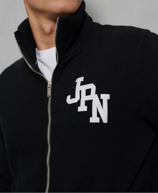 Superdry City College Classic Track Top Black