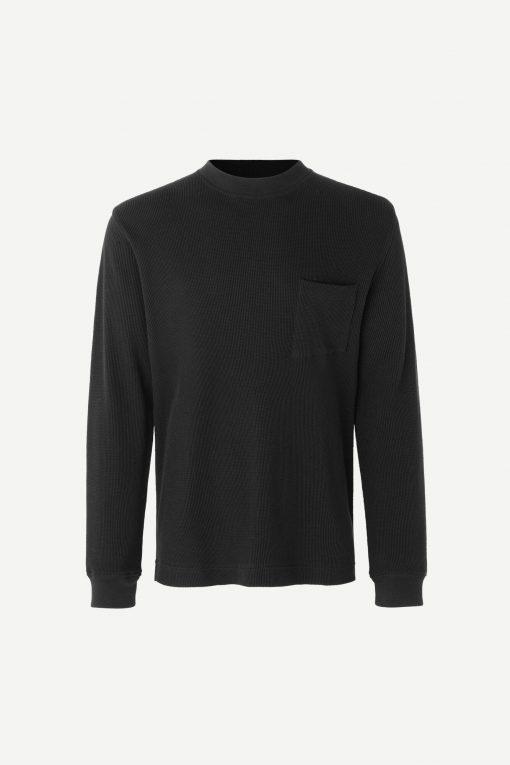 Samsoe & Samsoe Kofa Ls T-shirt Black