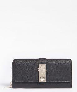 Guess Albury Maxi Organizer Wallet Black