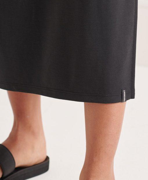 Superdry Strap Back Dress Black