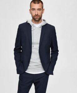 Selected Mylo Logan Blazer Navy Blazer