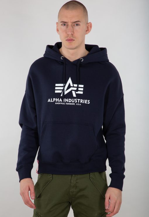 Alpha Industries Basic OS Hoody Rep.blue