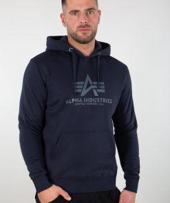 Alpha Industries Basic Hoody Blue