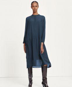 Samsoe & Samsoe Elm Shirt Dress Orion Blue