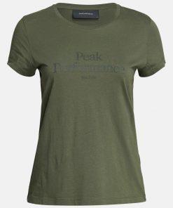 Peak Performance Original Tee Women Thrill Green
