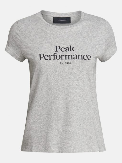 Peak Performance Original Tee Women Grey