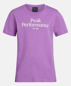 Peak Performance Junior Original Tee Action Lilac