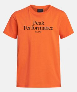 Peak Performance Junior Original Tee Zeal Orange