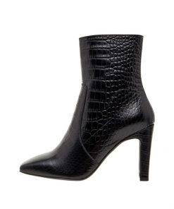 Bianco Biadelois New Zipper Boot Black