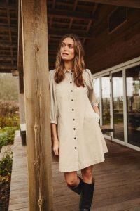 Part Two Eleina Dress Cement
