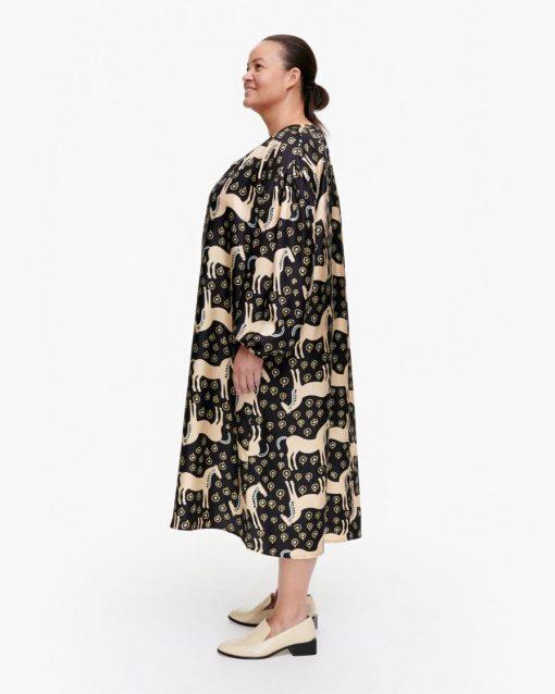 Marimekko Yhdessä Musta Tamma Dress Black
