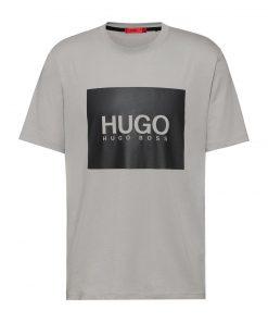 Hugo Boss Dolive214 T-shirt Silver