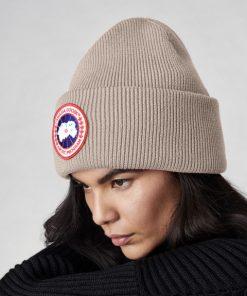 Canada Goose Arctic Disc Rib Togue Unisex  Tan Heather