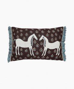 Marimekko Musta Tamma Cushion Cover 40x60 cm