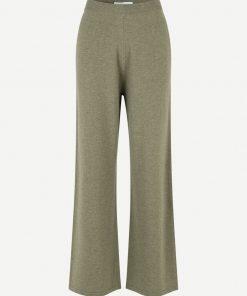 Samsoe & Samsoe Amaris Straight Trousers Covert Green