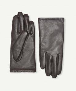 Samsoe & Samsoe Polette Glove Dark Brown
