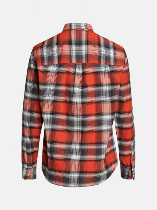 Peak Performance Moment Flanell Shirt Men Red Check
