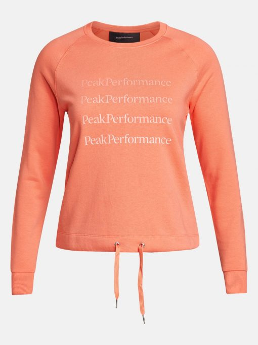 Peak Performance Ground Crew Women Light Orange
