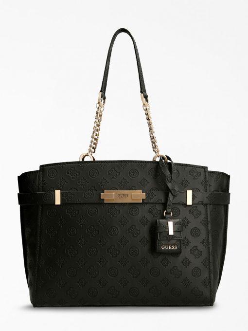 Guess Bea Elite Tote Bag Black