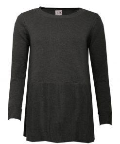 STI Nahla Knit Tunic Black