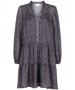 Neo Noir Federica Spice Flower Dress Grey