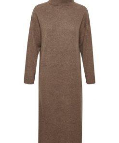 Part Two Kathia Knit Dress Mink Melange