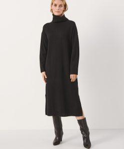Part Two Kathia Knit Dress Black