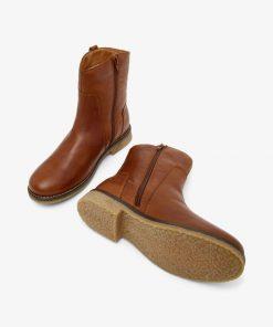 Bianco Biaatalia Winter Leather Boots Cognac
