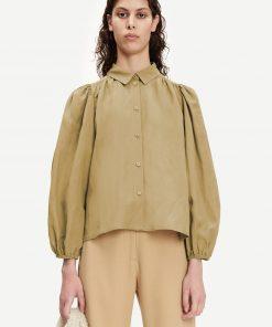 Samsoe & Samsoe Mejsa Shirt Covert Green