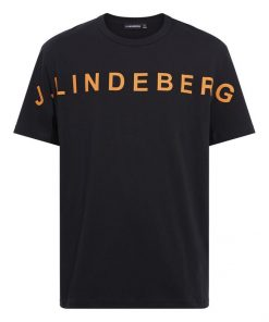 J.Lindeberg Jamie Logo T-shirt Black