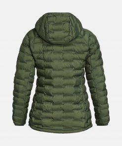 Peak Performance Argon Light Hood Jacket Women Thrill Green