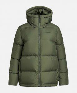Peak Performance Rivel Puffer Jacket Women Thrill Green