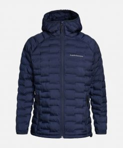 Peak Performance Argon Light Hood Jacket Men Blue Shadow
