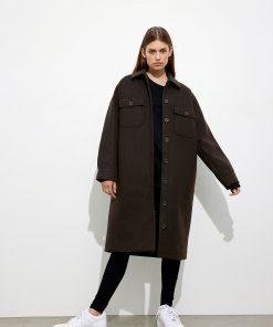 Envii Enamelie Jacket Slate Black Melange