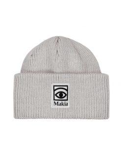 Makia Ögon Beanie Light Grey