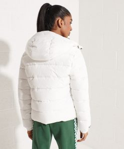 Superdry Hooded Spirit Sports Puffer Jacket Optic