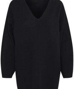 Gestuz Talligz V- Pullover Black