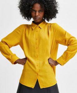 Selected Femme Signa-Dynella Aop Shirt Arrowwood