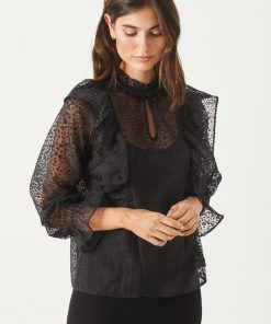 Part Two Leya Shirt Black