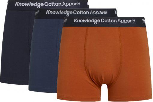 Knowledge Cotton Apparel Maple 3- Pack Underwear Multi