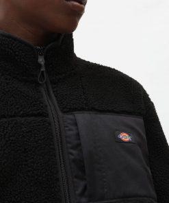 Dickies Red Chute Sherpa Fleece Black