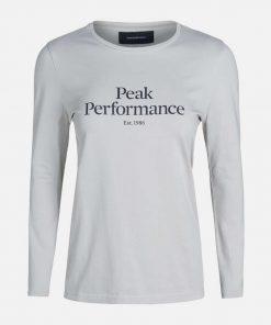 Peak Performance Original Long Sleeve Women Smoke