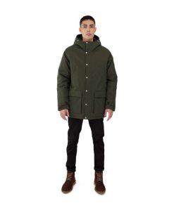 Makia Grit Jacket Dark Green